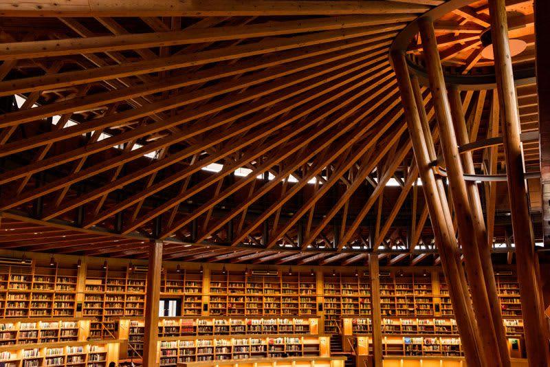 【日本全国】一度は行ってみたい美しすぎる日本の図書館5選