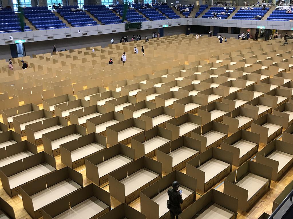 「100年変わらない?」日本の避難所環境