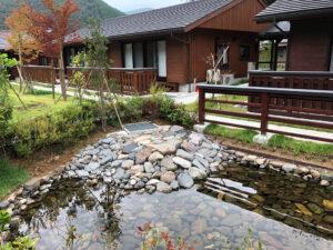奈良県十津川村の集落再編プロジェクトの一環で建設された村営住宅「高森のいえ」