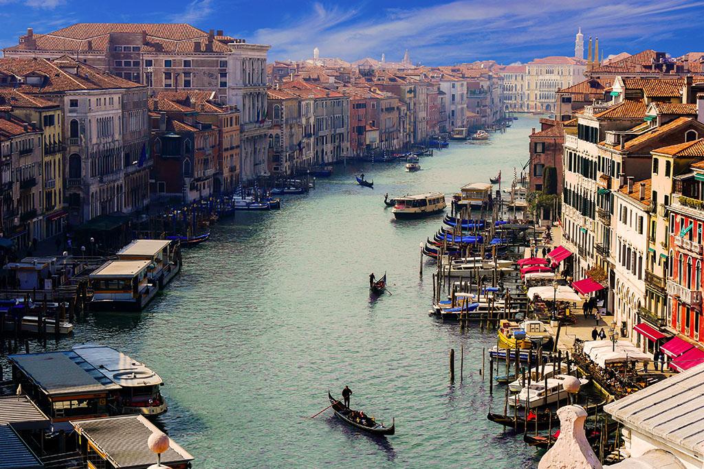 ヴェネツィアのカナル・グランデ