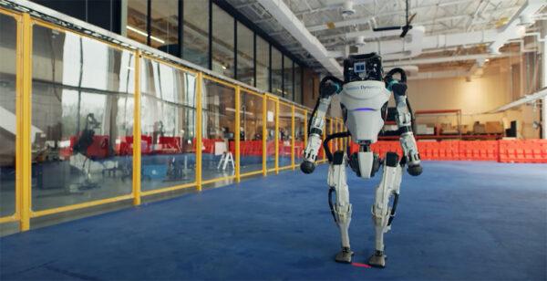 Boston Dynamics社が開発した音に合わせてダンスをおどるロボット